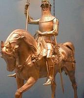 פסל של אביר