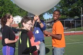 Excited to launch our first Weather Balloon!