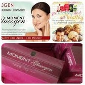 Moment Glucogen Premium L-Glutathion Precusors dan Collagen