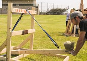 A Catapults Potential Energy