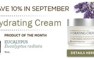 Product Special 10% off Hydrating Cream