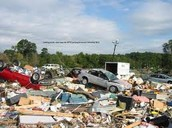 This is what it looked like after the tornado.