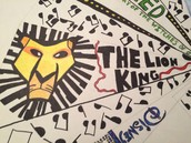 The Broadway musical, The Lion King!