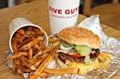 FIVE GUYS BURGERS AND FRIES FUNDRAISER