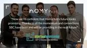 Area 31 Startup HomyHub: Doors to London