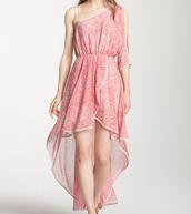 Vestido rosa sol