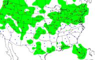 Precipitation Map of Arizona