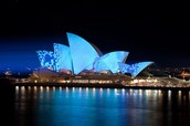 How big is the Opera House?
