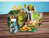 Happy meal with Shrek