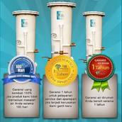 Filter Air Kami Berbeda Dengan Produk Lain