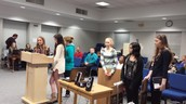 School Board Presentation:  Science Fair!