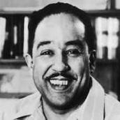 Poet Langston Hughes