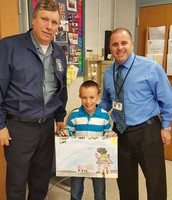 Fire Prevention Poster Winner