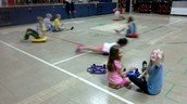 Having fun in PE!