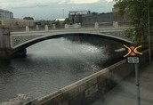 Bridge in Dublin, Ireland