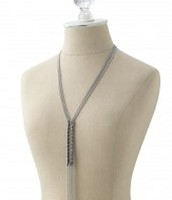 Tessa Fringe Necklace $30 - SOLD
