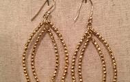 BARDOT HOOP EARRINGS - GOLD