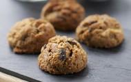 Flourless cocoa nib cookies