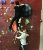 Better Health to go bouldering with my friends
