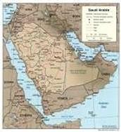 Saudi Arabia bodies of water.