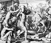 Greek Slaves working