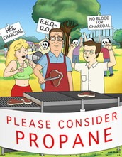 Propane salesmen need training too!