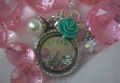 Stop by and build your own Living Locket!