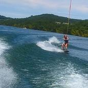 Me wake boarding