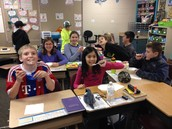 Our class earned an ice cream party