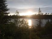 A Sunset in the BWCA