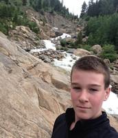 Rock Climbing up a Waterfall