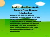 Austin County Farm Bureau April 22nd