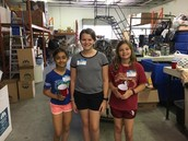 Troop 1297 at the Thrift Store & Warehouse