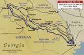 Sherman's route