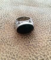 Smoky Swirl Ring
