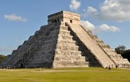 this is the overall view of chichan itza