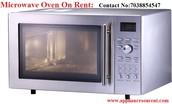 Micrwave Oven on Rent.......