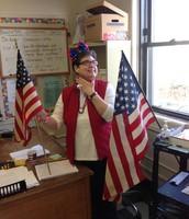 """Ms. Grady is """"patriotic."""""""