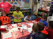 Fun times at the Valentine's Day Party!