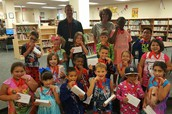South students started the year off with a First Week Reading Contest!