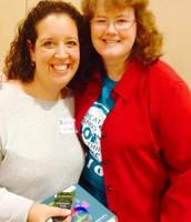 Mrs. Sokolowski meets Lynda Mullaly Hunt