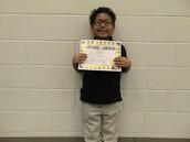Josue Hernandez - Third Grade