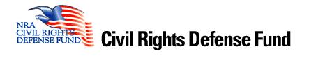 nra civil rights defense fund Fairfax, virginia –-(ammolandcom)- designate cfc #10006 to support the nra civil rights defense fund, founded to defend the fundamental right of law-abiding.