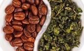 coffee or green tea