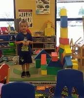 A castle all his own!