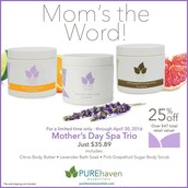 Mother's Day Spa Trio