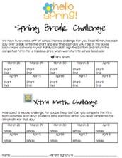 Spring Break is Almost Here!