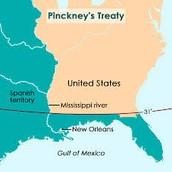 Pinckney's Treaty (pg. 232)