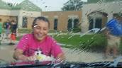 Sixth Grade Car Wash for Haiti Homes