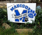 Madison Welcome Signs